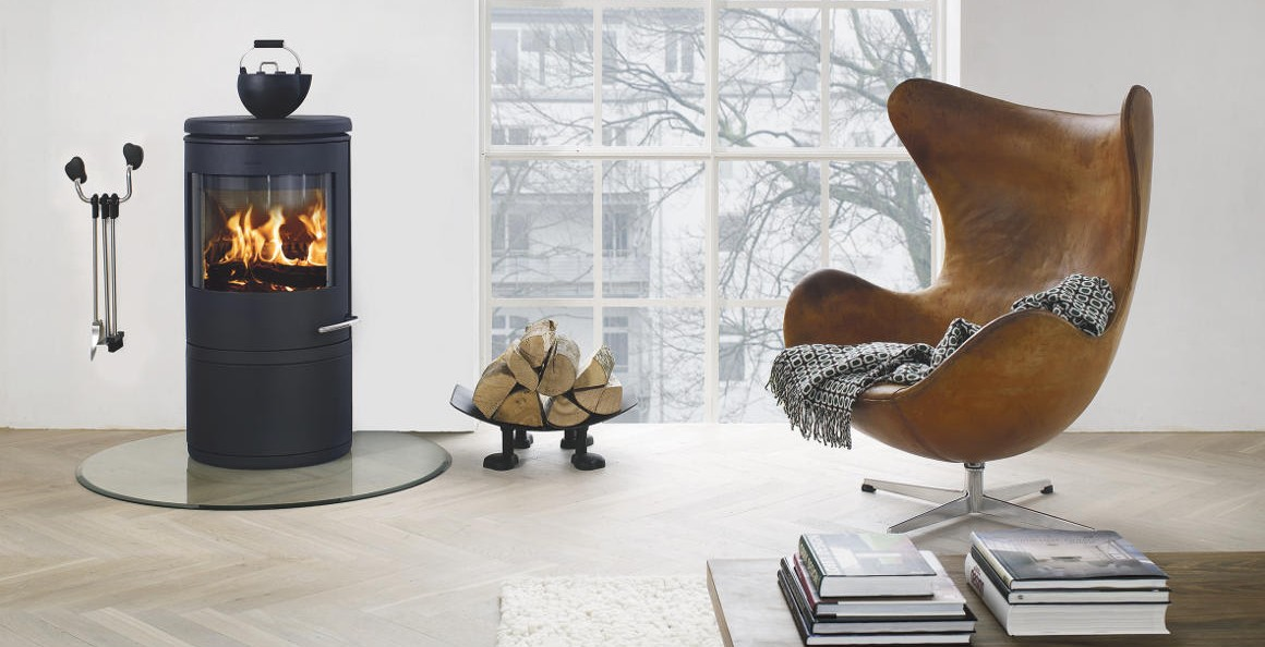 Stufe a legna camini e accessori qui scandinavia design - Stufe a pellet design ...